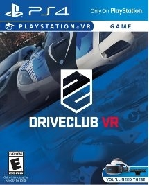 DriveClub VR PS4 Blu-ray (Rental)