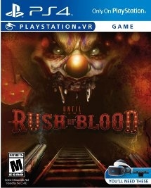 Until Dawn: Rush of Blood VR PS4 Blu-ray (Rental)
