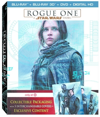 Rogue One: A Star Wars Story 3D Blu-ray (Rental)