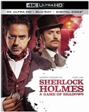 Sherlock Holmes: A Game of Shadows 4K UHD 07/20 Blu-ray (Rental)