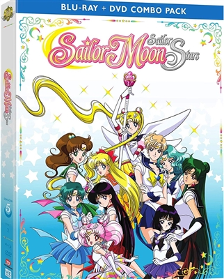 Sailor Moon Sailor Stars: Season 5 Part 2 Disc 1 Blu-ray (Rental)