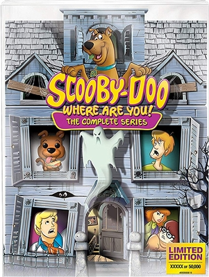 Scooby-Doo Where Are You! Complete Series Disc 2 Blu-ray (Rental)