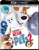 (Releases 2019/08/27) Secret Life of Pets 2 4K UHD 07/19 Blu-ray (Rental)