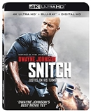 Snitch 4K UHD Blu-ray (Rental)
