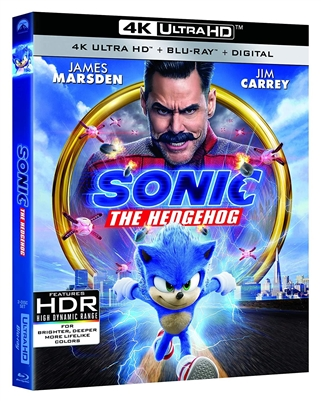 Sonic the Hedgehog 4K UHD 04/20 Blu-ray (Rental)