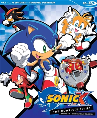 (Pre-order - ships 05/28/19) Sonic X: The Complete Series Disc 2 05/19 Blu-ray (Rental)