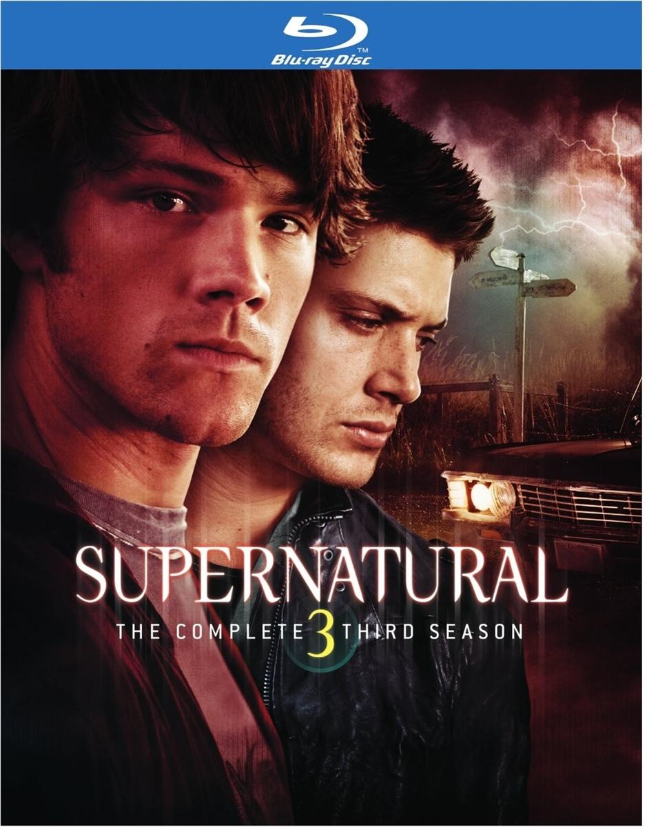 Supernatural Season 3 Disc 1 Blu Ray Rental
