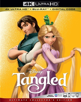 Tangled 4K UHD 10/19 Blu-ray (Rental)