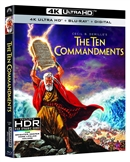 Ten Commandments 4K UHD 02/21 Blu-ray (Rental)