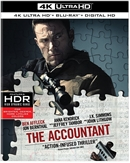 Accountant 4K UHD Blu-ray (Rental)