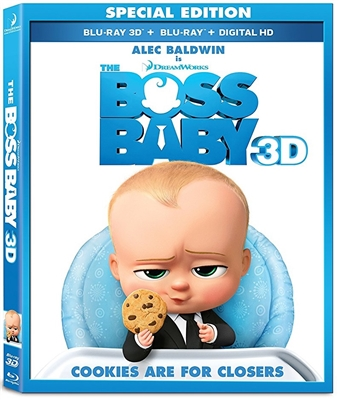 Boss Baby 3D 06/17 Blu-ray (Rental)