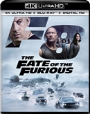 Fate of the Furious 4K UHD Blu-ray (Rental)