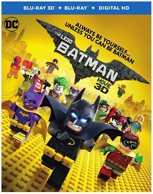 LEGO Batman Movie 3D Blu-ray (Rental)