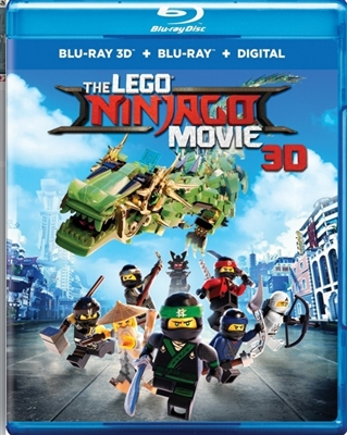LEGO Ninjago Movie 3D Blu-ray (Rental)