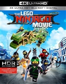 LEGO Ninjago Movie 4K UHD Blu-ray (Rental)