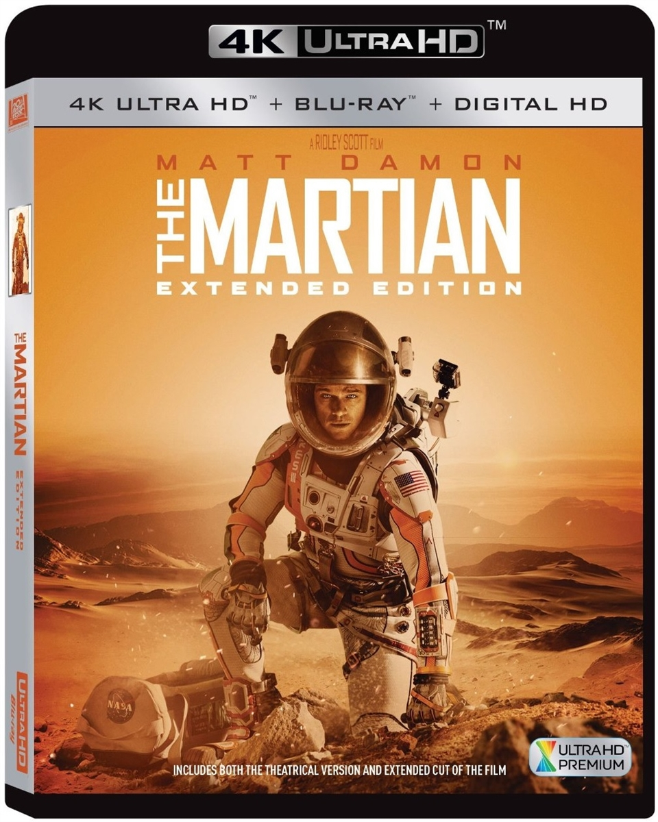 the martian extended edition 4k uhd blu ray rental. Black Bedroom Furniture Sets. Home Design Ideas