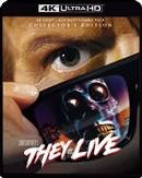 (Pre-order - ships 01/19/21) They Live - Collector's Edition 4K UHD 12/20 Blu-ray (Rental)