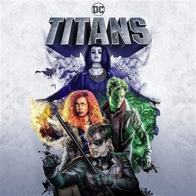 Titans: The Complete First Season Disc 1 Blu-ray (Rental)