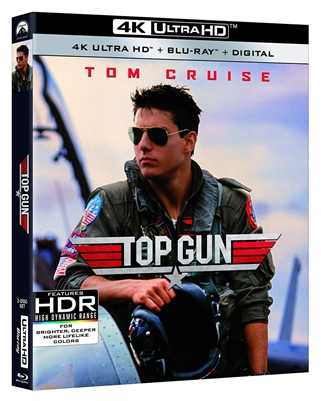 Top Gun 4K UHD Blu-ray (Rental)