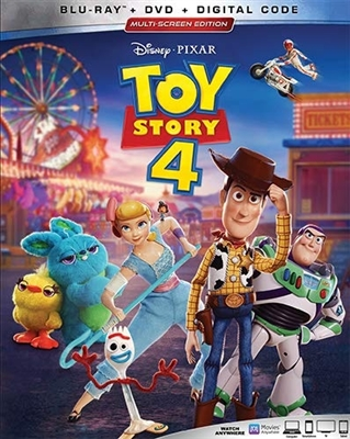 (Releases 2019/10/08) Toy Story 4 09/19 Blu-ray (Rental)