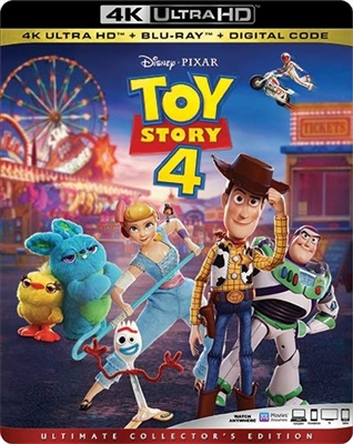 Toy Story 4 4K UHD 09/19 Blu-ray (Rental)