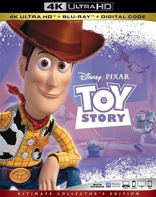 Toy Story 4K UHD 05/19 Blu-ray (Rental)