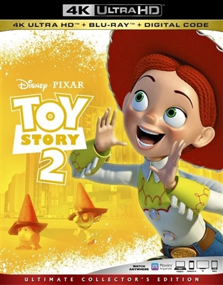 Toy Story 2 4K UHD 05/19 Blu-ray (Rental)