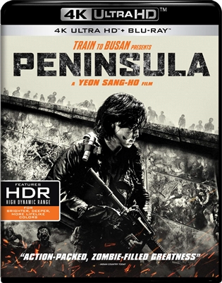 Train to Busan Presents: Peninsula 4K UHD 08/20 Blu-ray (Rental)