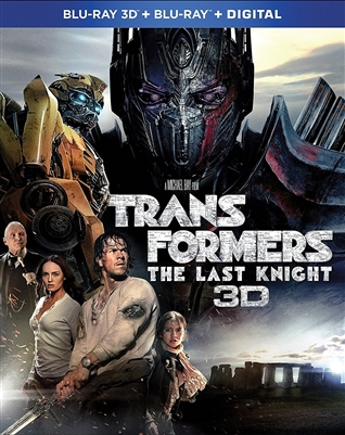 Transformers: The Last Knight 3D Blu-ray (Rental)