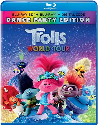 Trolls World Tour 3D 06/20 Blu-ray (Rental)