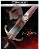 (Releases 2020/11/03) V for Vendetta 4K UHD 09/20 Blu-ray (Rental)