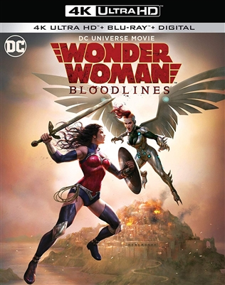 Wonder Woman: Bloodlines 4K 08/19 Blu-ray (Rental)
