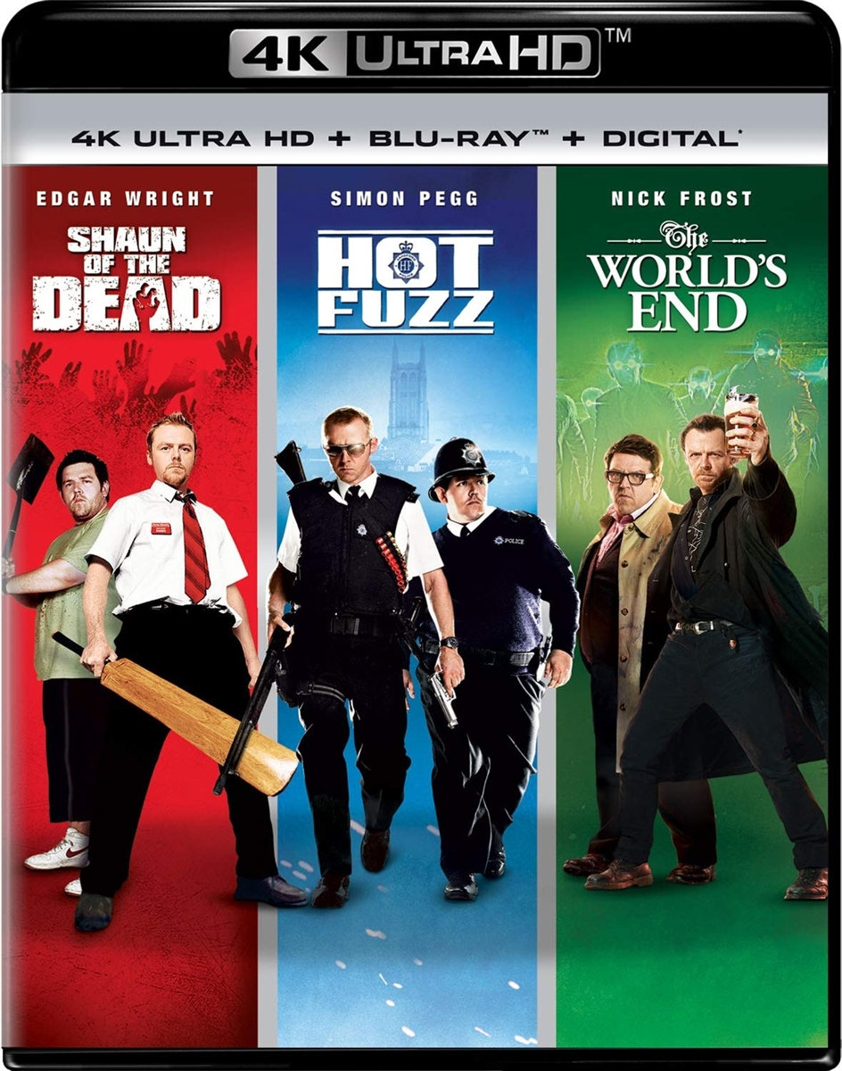 (Releases 2019/09/10) World's End 4K UHD 07/19 Blu-ray (Rental)