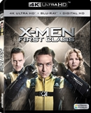 X-Men: First Class 4K UHD Blu-ray (Rental)