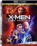 X-Men: Dark Phoenix 4K 07/19 Blu-ray (Rental)