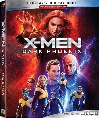 X-Men: Dark Phoenix 07/19 Blu-ray (Rental)