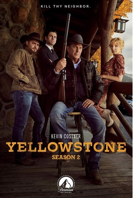 Yellowstone Season 2 Disc 1 Blu-ray (Rental)