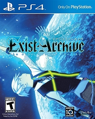 Exist Archive PS4 Blu-ray (Rental)