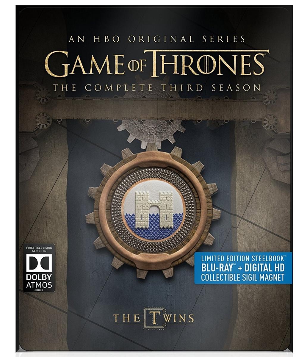 Game of Thrones (Dolby Atmos) Season 3 Disc 5 Blu-ray (Rental)