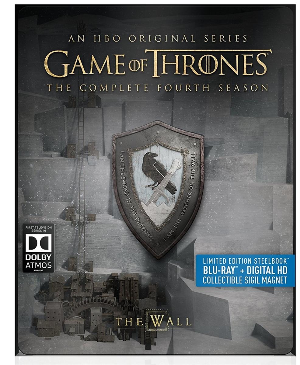 Game of Thrones (Dolby Atmos) Season 4 Disc 3 Blu-ray (Rental)