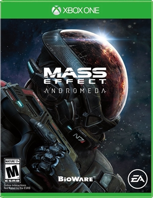 Mass Effect Andromeda - Xbox One Blu-ray (Rental)
