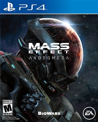 Mass Effect Andromeda PS4 Blu-ray (Rental)