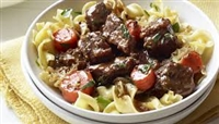 Classic Beef Stew with Parsly Noodles