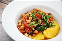 Garbanzo Bean Puttanesca (Vegetarian)
