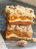 """SOLD OUT""Yayy Its Fall Pumpkin Praline Bars"