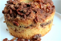 Pecan Cinnamon Streusel Sour Cream Muffin