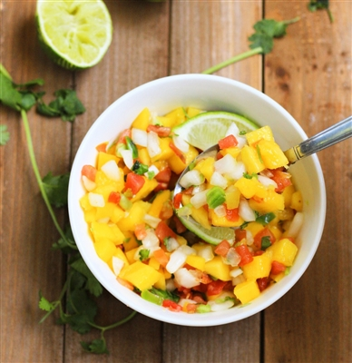 Mojo Chicken Breast with Pineapple Mango Salsa