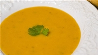 Butternut squash and Apple Spice Soup