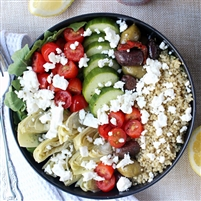 Greek Quinoa Bowl