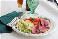 Irish Corned Beef with Colcannon